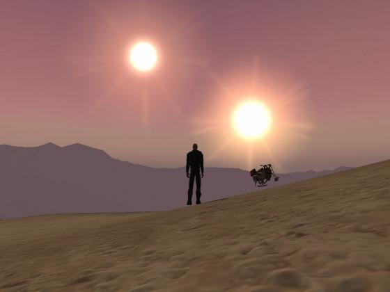 SWG - Tatooine Sunset