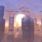 SWTOR - Coruscant Sunset