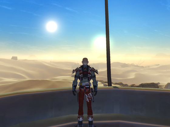 SWTOR - Tattooine - Rising Sun