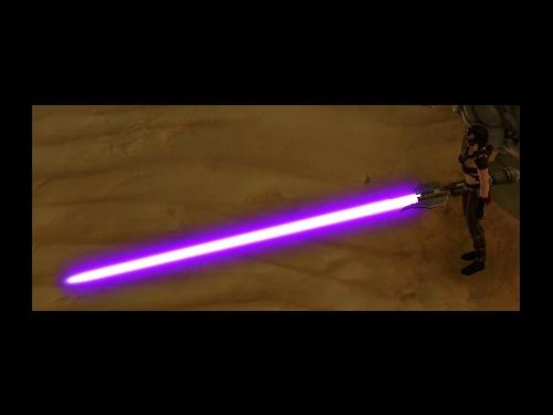 Lubs neues Lichtschwert