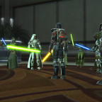 SWTOR - Uneven fight, only 6 Jedi