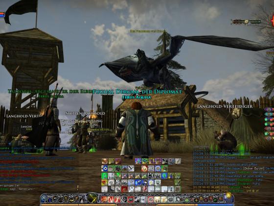 Nazgul zerstört ein Dorf!